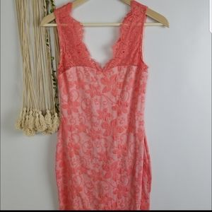 Marineblue brand Boutique  NWOT Coral color minidr